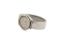 Wrist watch isolated Royalty Free Stock Photo
