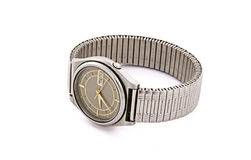 Wrist watch isolated Royalty Free Stock Photos
