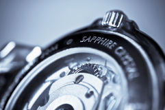 Wrist watch, mechanism Royalty Free Stock Image