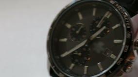 Wrist Watch. Mens Accessories Wrist Watch Looped Footage stock video footage