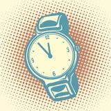 Wrist watch retro Stock Photo