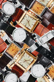 Wrist watches. Close up of wrist watches stock photography