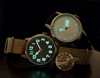 Wrist watches Royalty Free Stock Photography