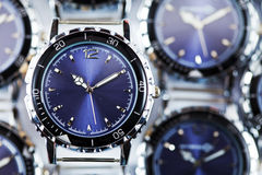 Wrist watches . Close up in a sunny day Royalty Free Stock Photo