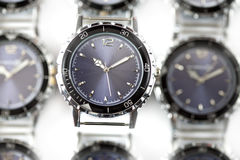 Wrist watches. Still-life on a white background Stock Photo