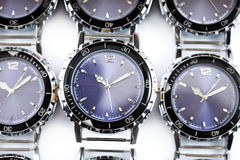 Wrist watches. Still-life on a white background stock photos