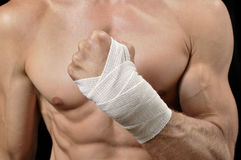 Wrist wrap Stock Images