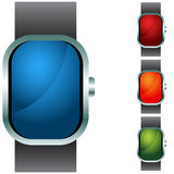 Wristband Button Icon Set. An image of a button icon set Stock Image