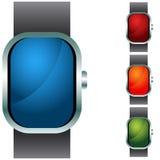 Wristband Button Icon Set Stock Image