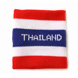 Wristband with Thailand flag pattern Stock Photography