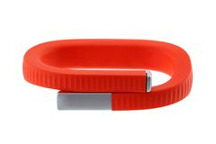 A wristband to track activities Stock Photo