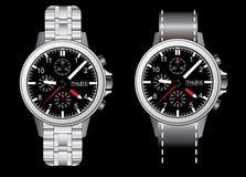 Wristlet Watch Illustraion Royalty Free Stock Photo