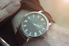 Wristwatch, ρολόι σε διαθεσιμότητα στοκ φωτογραφία με δικαίωμα ελεύθερης χρήσης