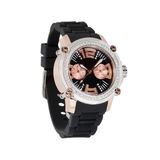 Wristwatch изолированный на белизне Стоковые Изображения