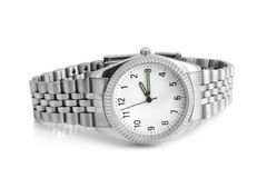Wristwatch. On a white background Stock Image