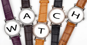 Wristwatch Stock Photo