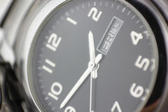 Wristwatch background , Friday thirteenth concept Royalty Free Stock Photo