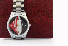 Wristwatch with Box Royalty Free Stock Photo