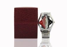 Wristwatch with Box Stock Photo