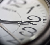 Wristwatch clock Stock Photo