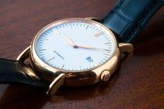 Wristwatch closeup Stock Photo