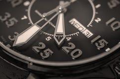 Wristwatch closeup Royalty Free Stock Photos