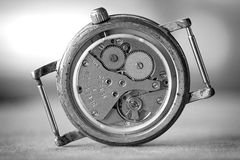 Wristwatch gears Stock Image