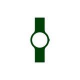 Wristwatch ikona Mężczyzna ręka ogląda akcesorium ilustracji