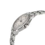Wristwatch Mens роскошный на белизне Стоковая Фотография RF