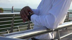 Wristwatch stock video