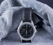 Wristwatch tucked in Royalty Free Stock Image