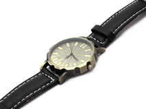 Wristwatch  on white Royalty Free Stock Photography