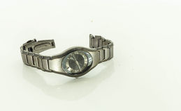 Wristwatch. On a white background Royalty Free Stock Images