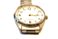 Wristwatches. Displayed on a white background Royalty Free Stock Photos