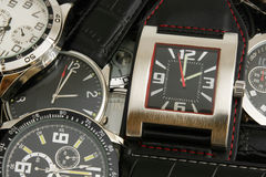 Wristwatches Royalty Free Stock Images