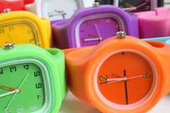 Wristwatches. For backgrounds or textures Stock Photography