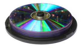 Writable DVD pack Stock Images