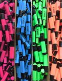 Write with Color. The NEON highlighter is a skilcraft product and produced with blind labor Stock Image