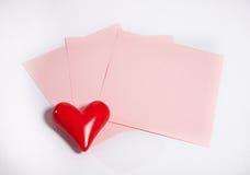 Write love letter Stock Image