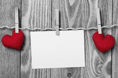 Write some words of love Stock Photography
