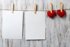 Write some words of love Stock Images