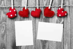 Write some words of love Stock Photos