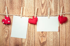 Write some words of love Royalty Free Stock Photography