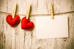 Write some words of love Royalty Free Stock Image