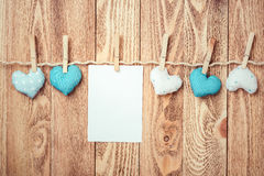 Write some words of love Royalty Free Stock Images