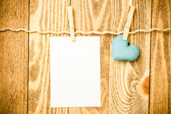 Write some words of love Royalty Free Stock Photos