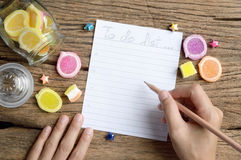 Write to do list Stock Images
