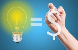 Write your idea amount Money Stock Photo