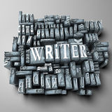 Writer royalty free illustration