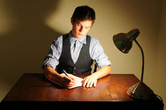 Writer royalty free stock images
